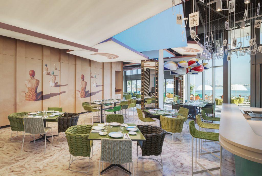 Dubai business lunch