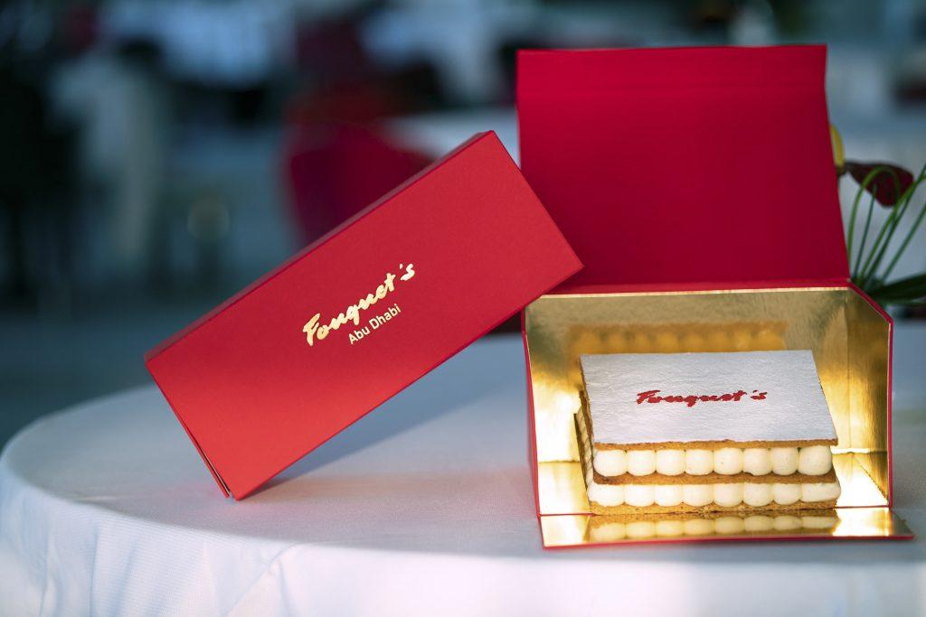 Fouquet's takeaway cake