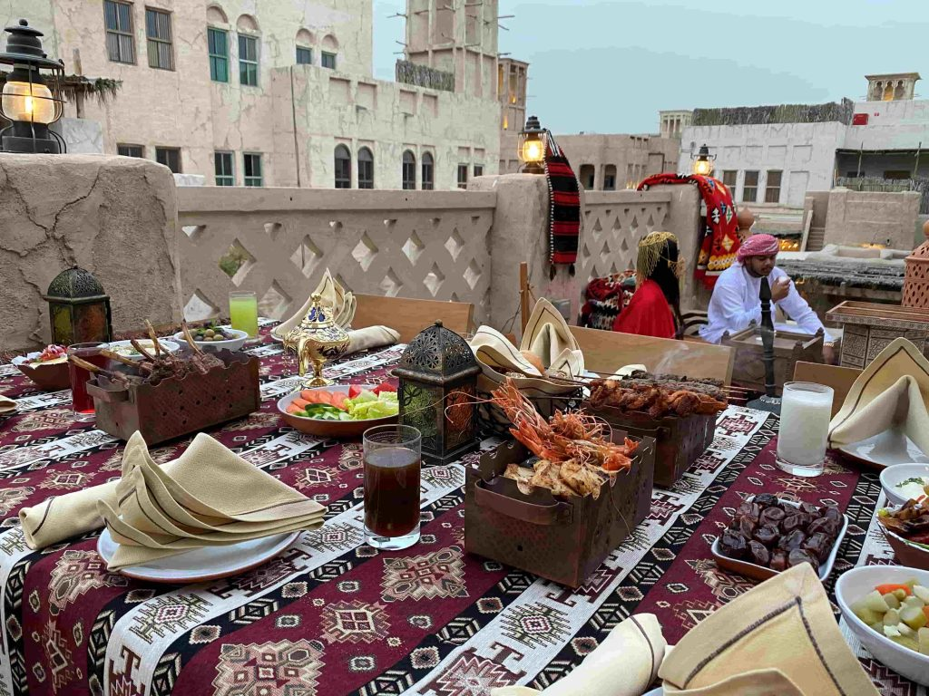 Dubai's best suhoor Saba'a Cafe