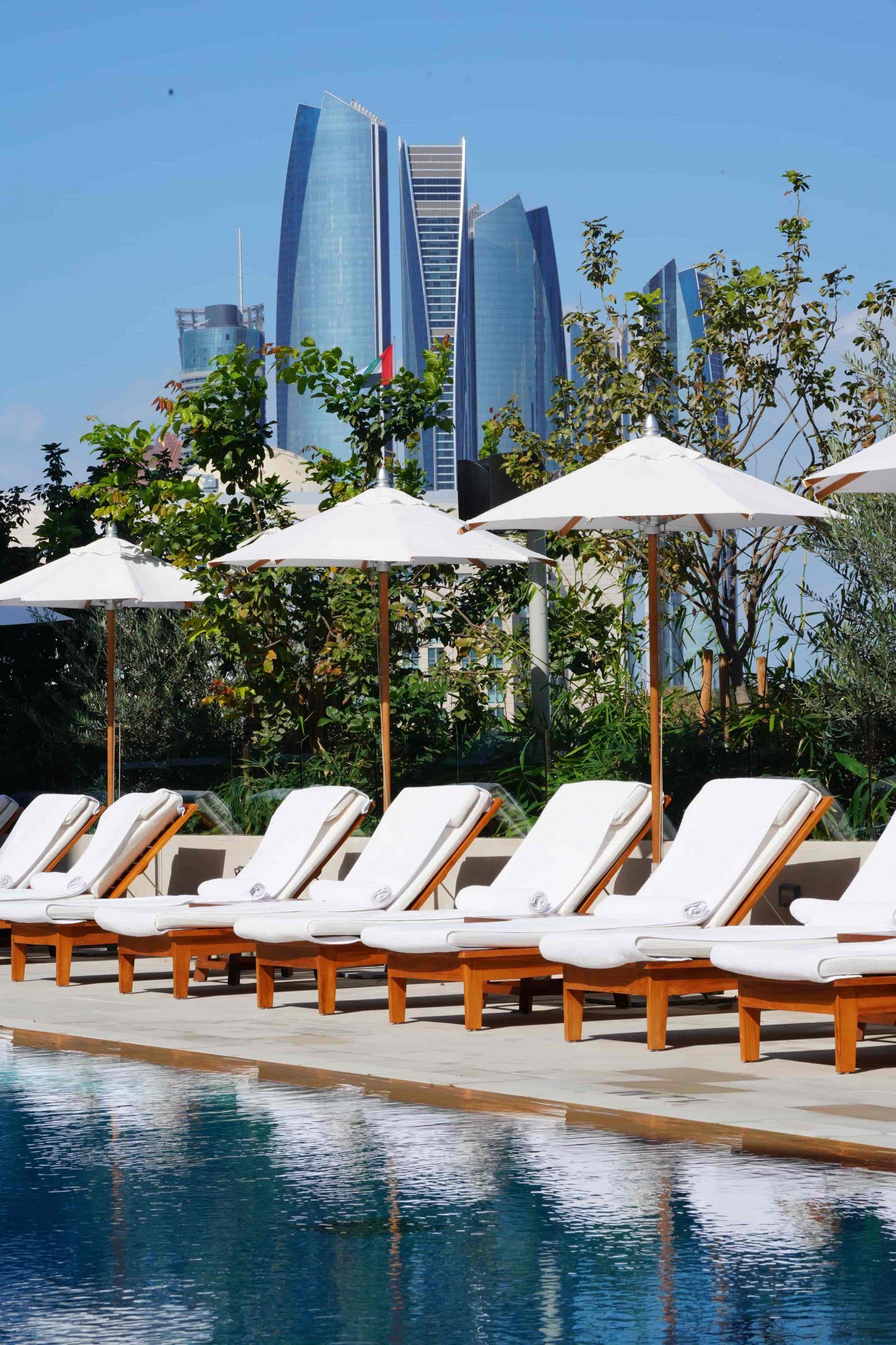 Abu Dhabi EDITION pool