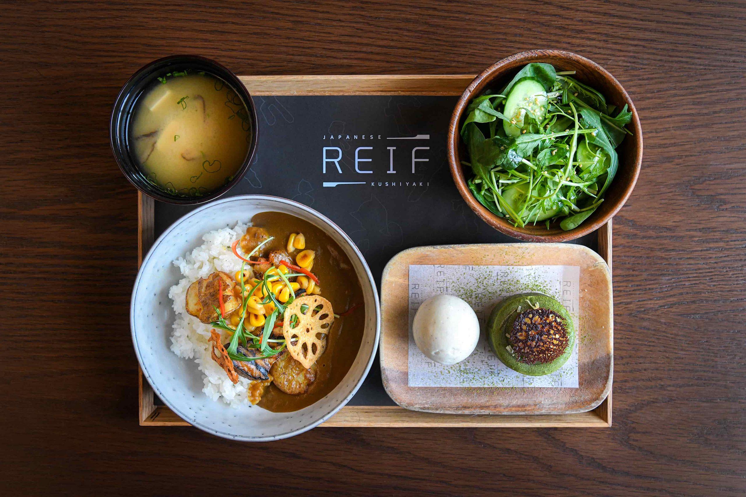Reif lunch menu