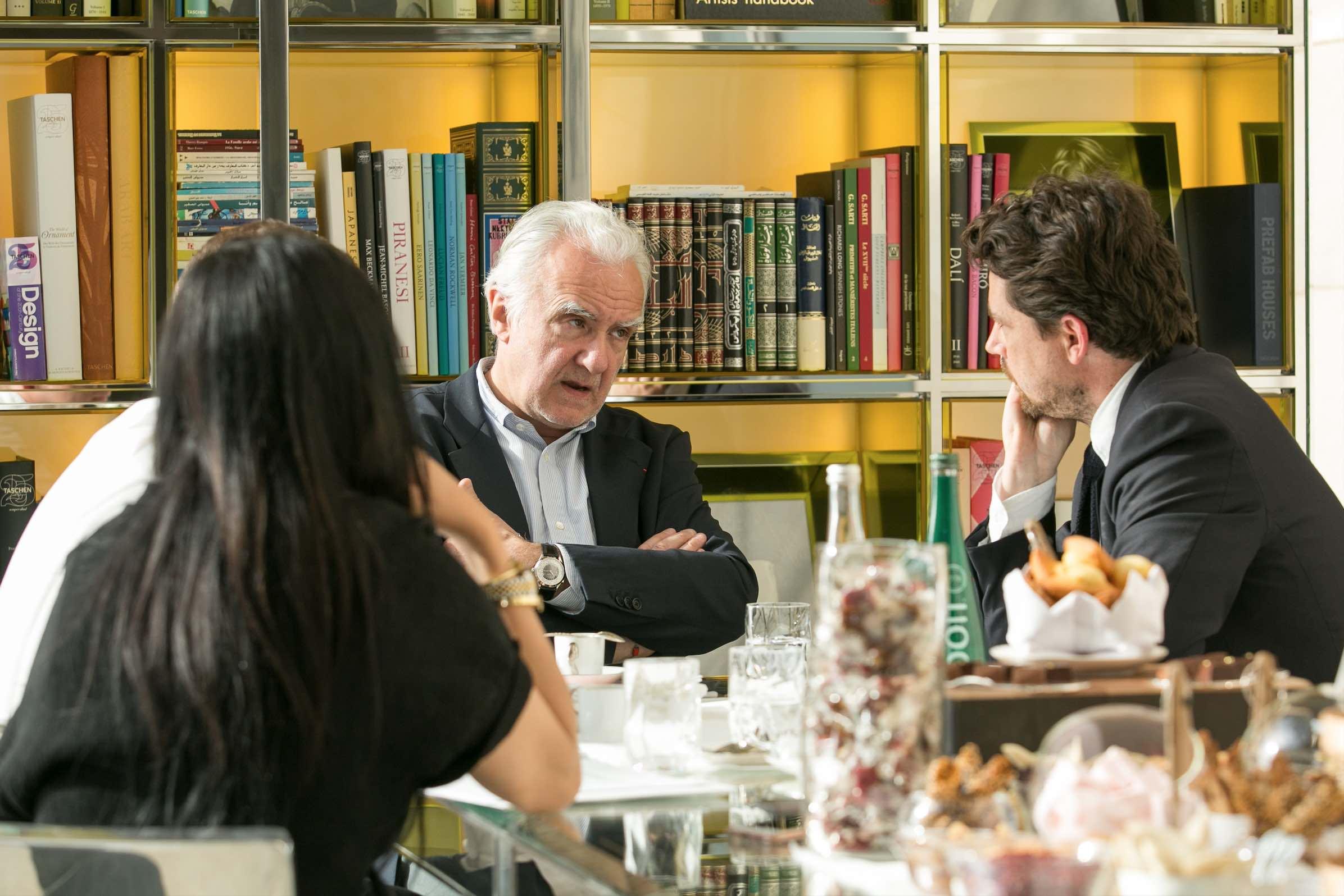 Alain Ducasse Interview