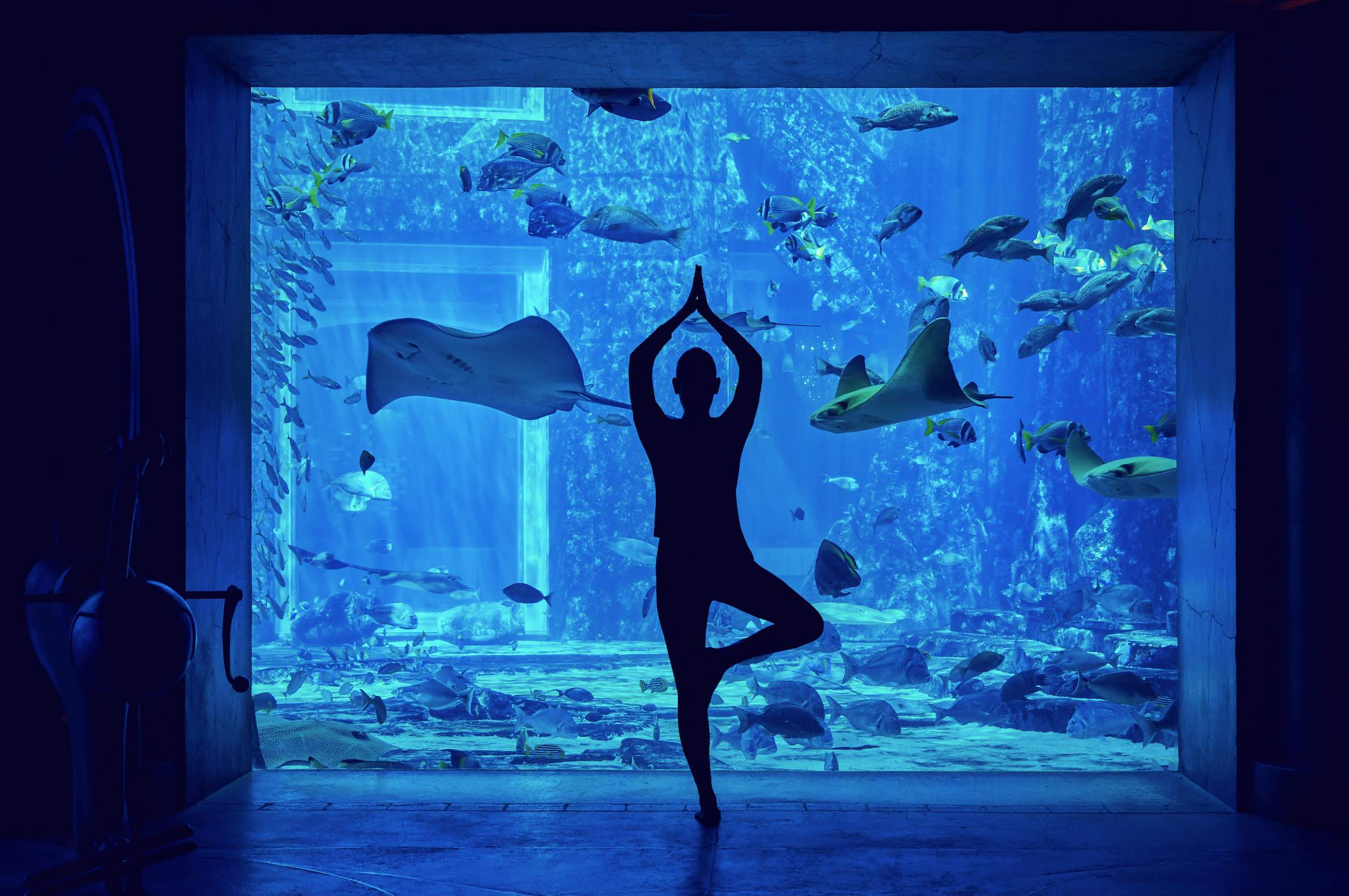 underwater pilates Dubai