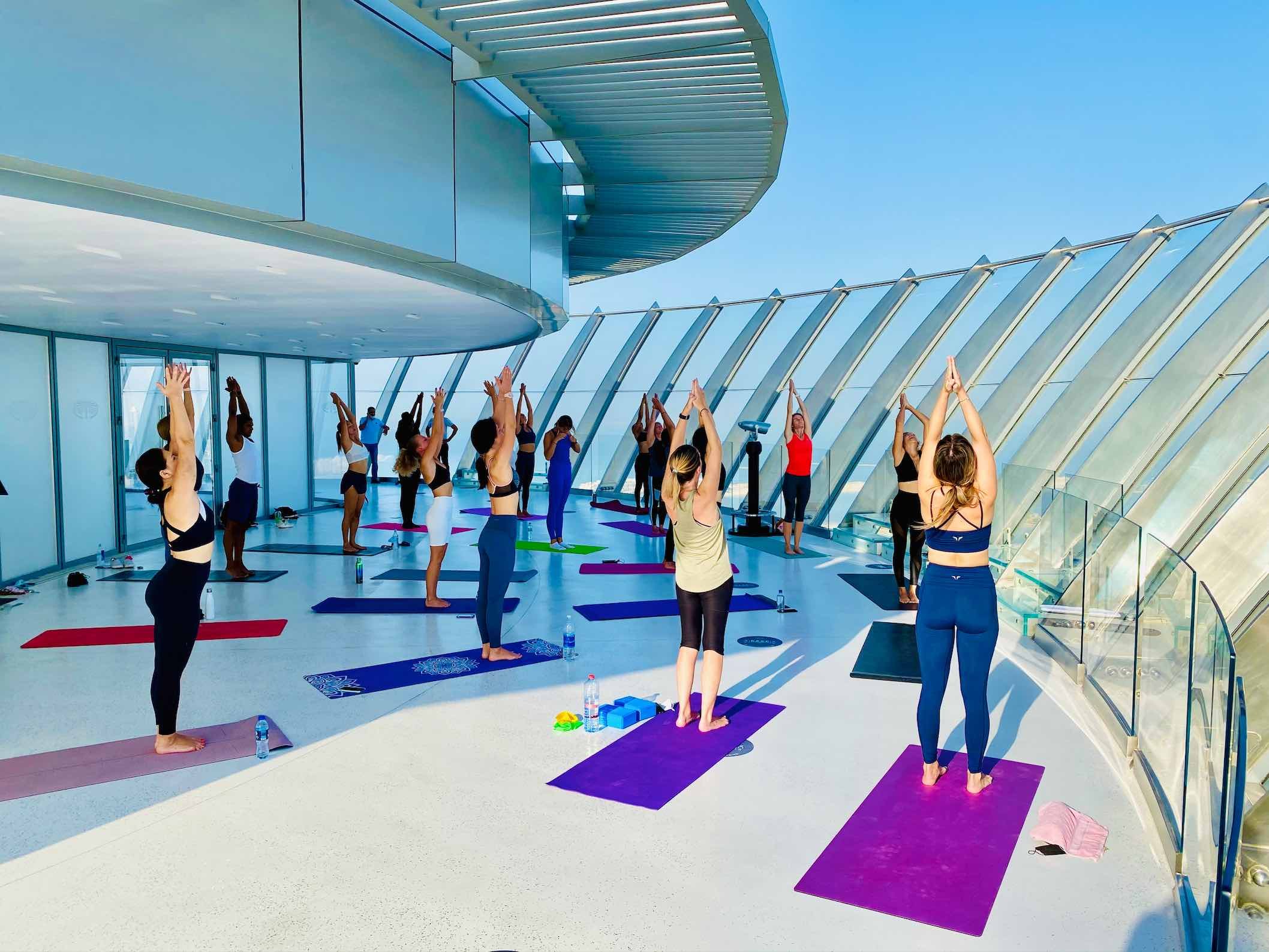 The View yoga