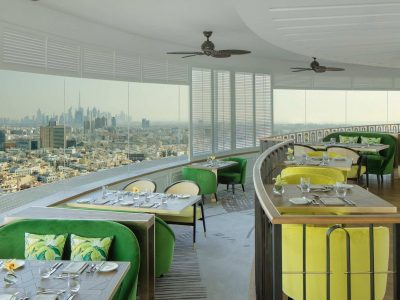 revolving restaurant Dubai