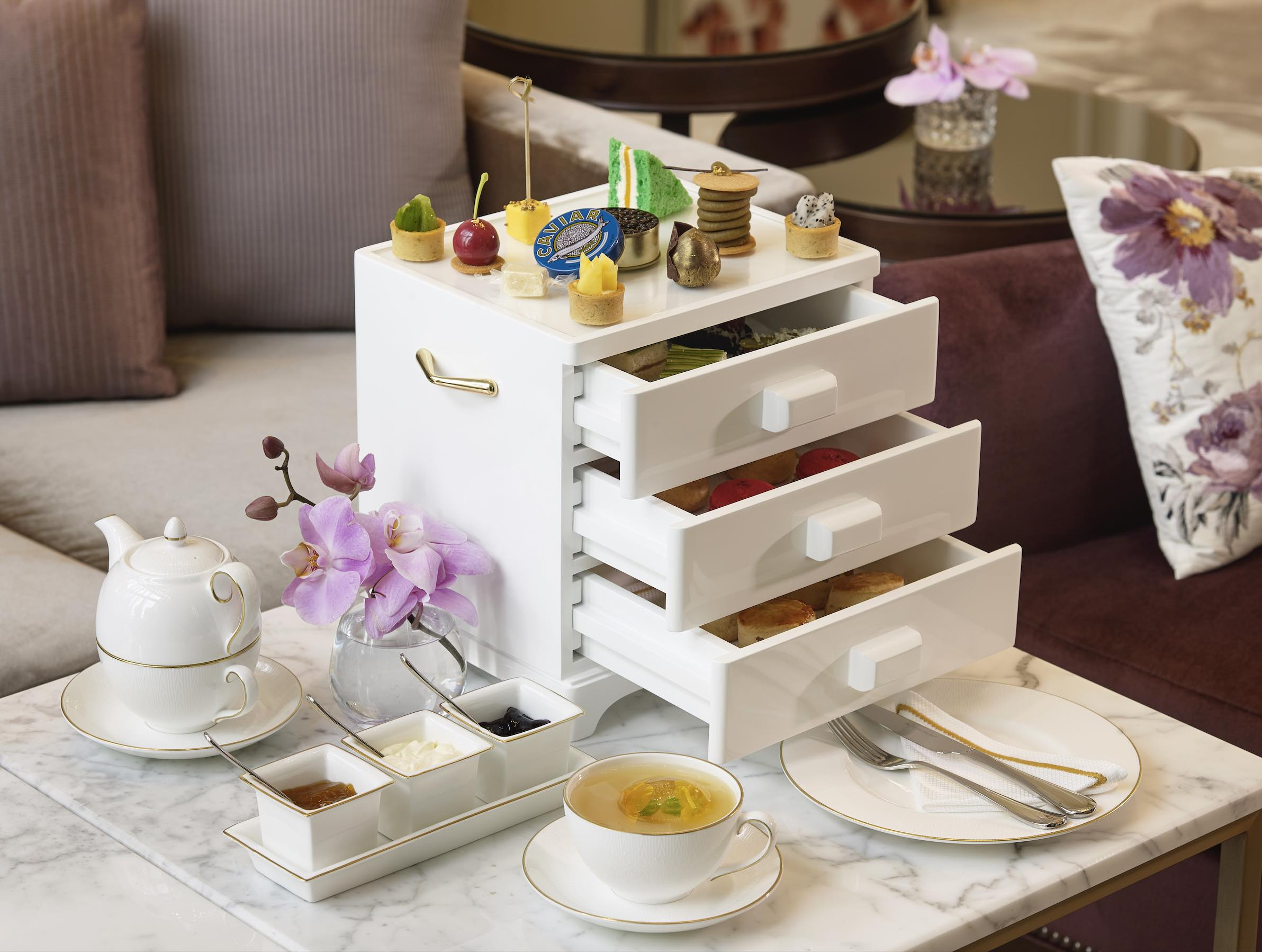 Dubai's best afternoon teas
