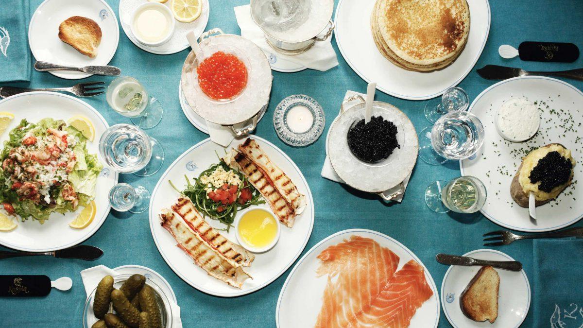 Dubai caviar restaurant