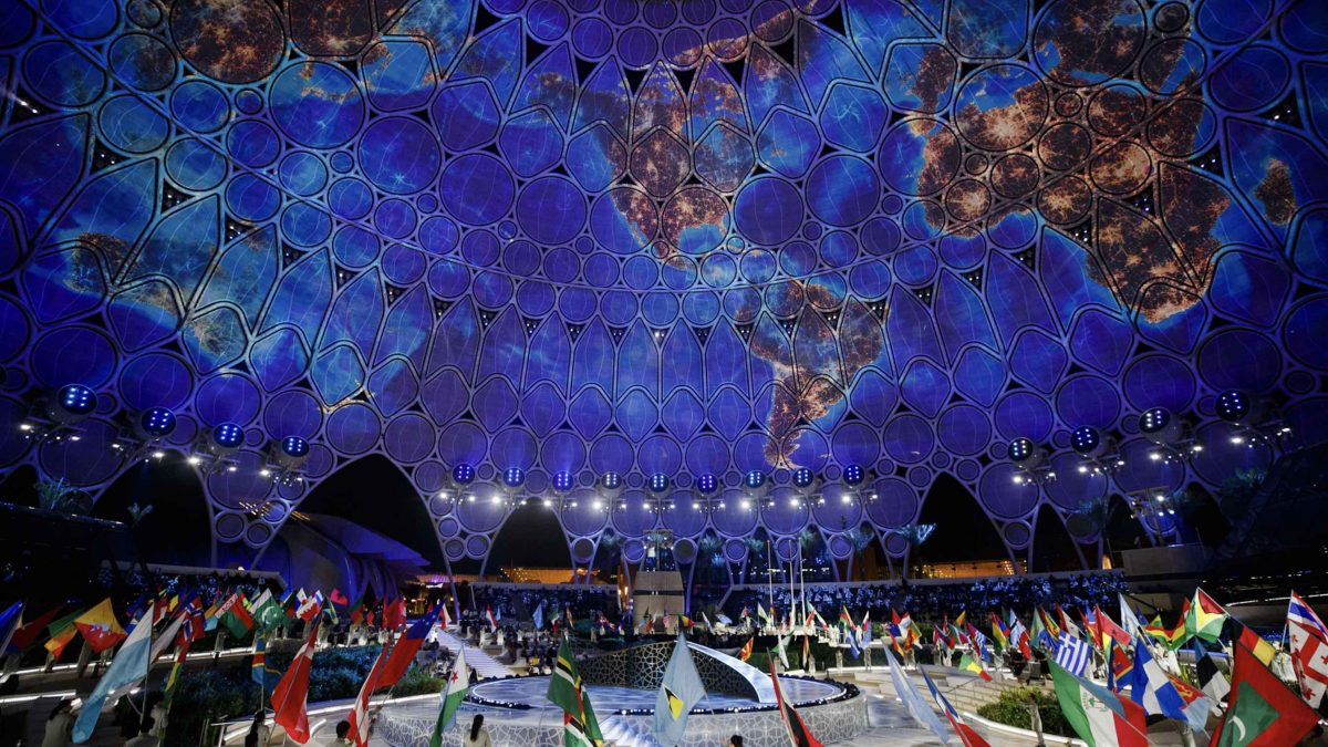 Expo 2020 opening
